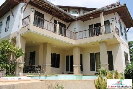 3 bedrooms house with private swimming pool for rent