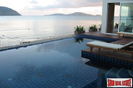 Luxury 2 Bed Absolute Beach Front Duplex at 5* Resort Complex