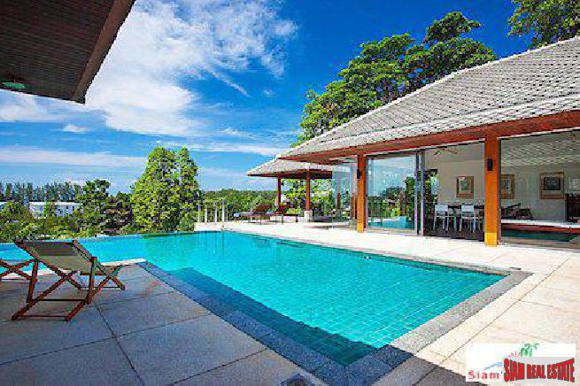 Newly Renovated, Luxury Four-Bedroom Villa in Rawai
