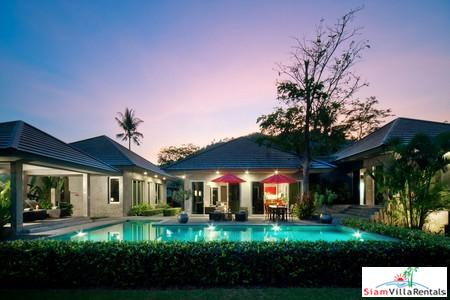 Boutique Three Bedroom Pool Villa in Tranquil Nai Thorn Location