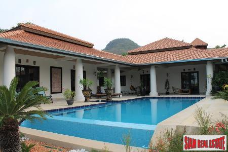 Bali style house with private swimming pool for sale