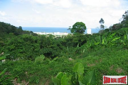 1,350 sqm Sea View Land above Karon
