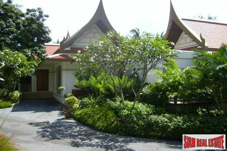 Classic Three Bedroom Pool Villa on Secure Estate in Kata