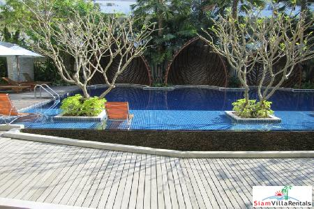 1 bedroom condominium unit with the direct access to the swimming pool for rent.