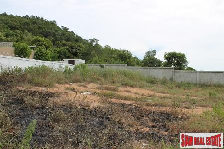 904 sqm of Land for Sale with Mountain & Sea Views at Hua Hin