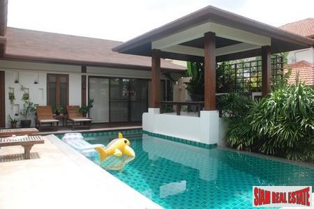 Baan Maneekram Jomthong | Sophisticated Four Bedroom Pool Villa in Chalong