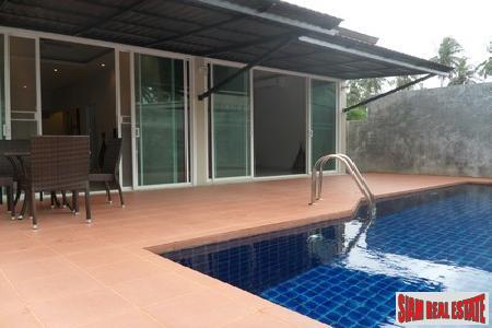 Modern Two-Bedroom Pool Villa in 4