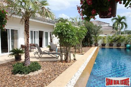 Fully furnished 3 bedrooms pool villa for sale.