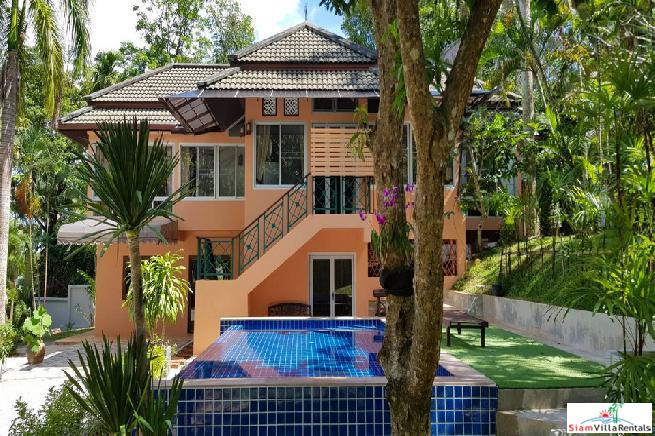 3 Bedroom Home in peaceful hillside location Chalong