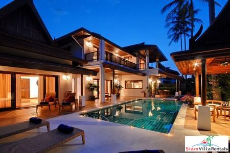 Luxury Four Bedroom Villa on Samui's Southeastern Coast