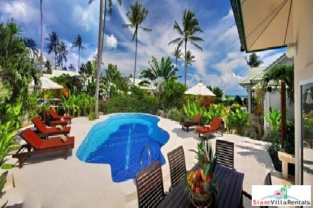 Sea View Three-Bedroom Pool Villa on Samui's Southeastern Coast