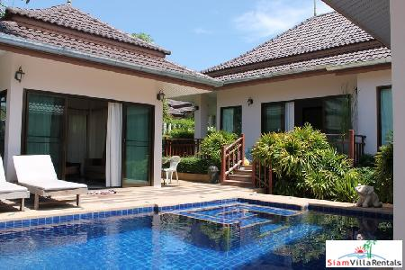 3 bedrooms villa with private swimming pool for sale only few minutes to Hua Hin town.