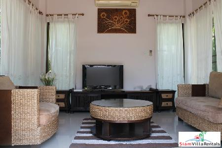3 bedrooms villa with private 2