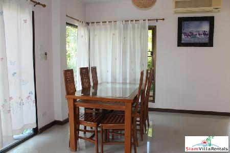 3 bedrooms villa with private 4