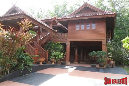 Two Bedroom Teak Home for Sale in Rawai