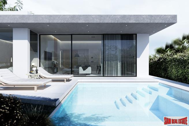 Two-Three Bedroom Pool Villas in New Rawai Development