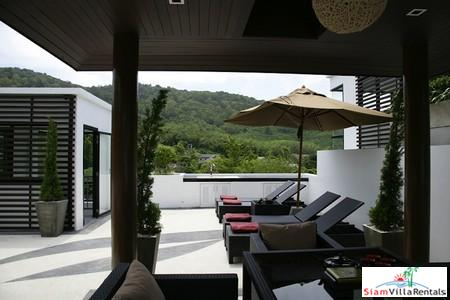 Two-Bedroom, Mountain View Private Pool Villa in Nai Harn