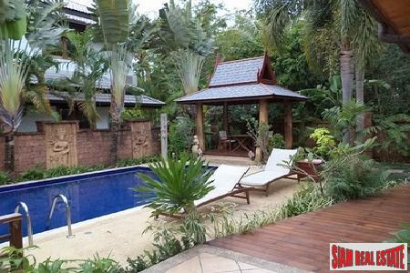 Thai-Balinese Four Bedroom Pool Villa in Rawai