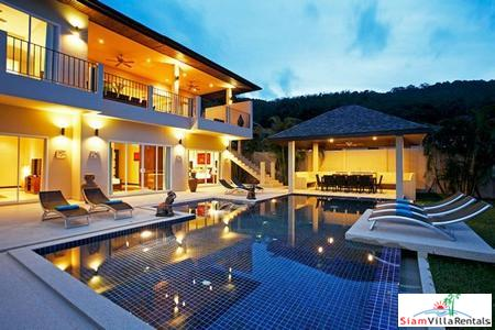 Gorgeous Seven Bedroom Luxury Villa in Naiharn