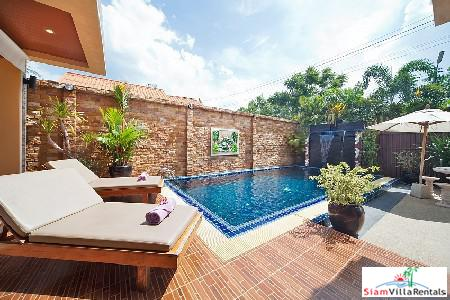 Private Pool Villa with Waterfall for Rent Near Bang Tao Beach