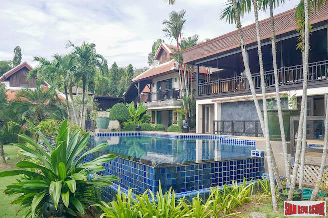 Baan Bua | Luxury Lake-View Seven Bedroom Villa in Nai Harn