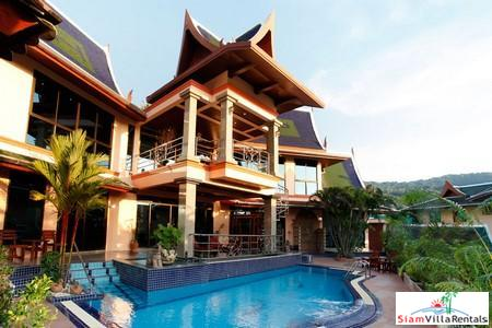 Thai-Style Four Bedroom Pool Villa in Kata