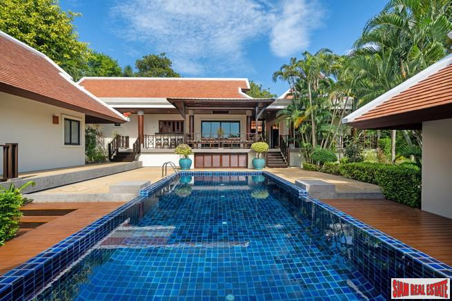 Lake-View, Three Bedroom Villa in exclusive Naiharn Estate