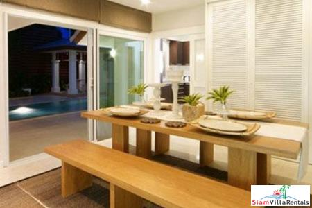 Modern Three-Bedroom Pool Villa in 2