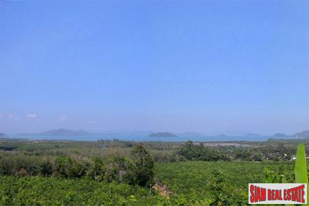 2 Rai + Panoramic Sea View Land in Paklok