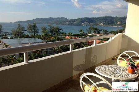 Two Bedroom, Sea View Apartment in Patong High-Rise