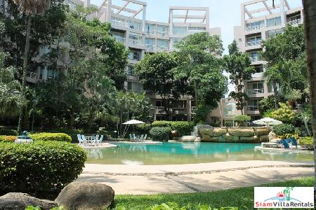 Fully furnished 2 bedrooms condominium for rent.
