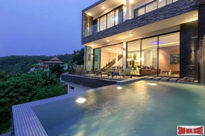 Modern, Three-Bedroom Villas in New, Boutique Bangtao Development