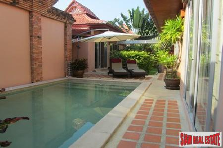 Three-Bedroom Modern Balinese Pool Villa with Study in Rawai