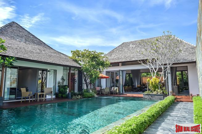 Exclusive Three and Four Bedroom Pool Villas in New Cherng Talay Development