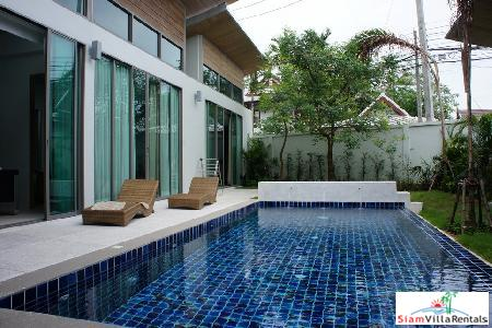 New, Modern Three-Bedroom Pool Villa in Cherngtalay