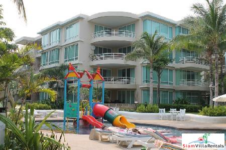 3 Bedrooms condominium with the direct access to the swimming pool for rent.