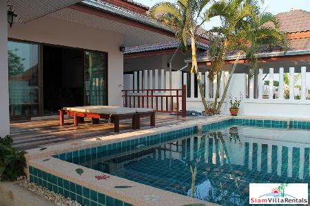 Pool Villa for rent only few minutes from Hua Hin town center.