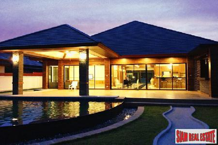 Brand New 4 Bedroom, 4 Bathroom Single Story House - East Pattaya