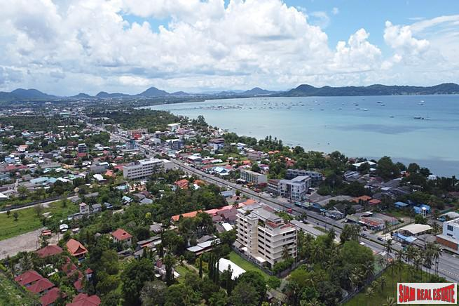 Spacious, Three-Bedroom Sea View Condo in Rawai