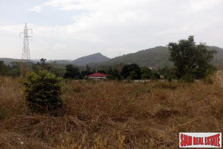 Land for sale with mountain view near Golf Course.