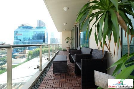 Luxury 2 Bedroom with big terrace with great views. Legend Saladaeng.