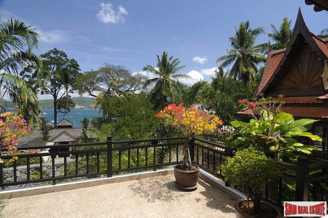 Villa Baan Sabai | Ultra-Luxury Sea View Five Bedroom Thai Pool Villa in Patong