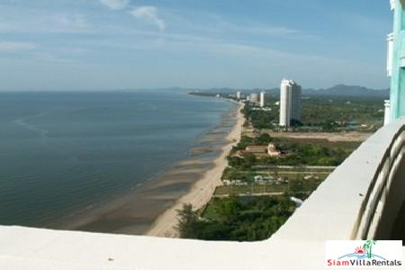 Two Bedroom, Sea View Condo in Cha-Am