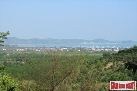 Six Rai, Sea View Land in the Chalong Hills