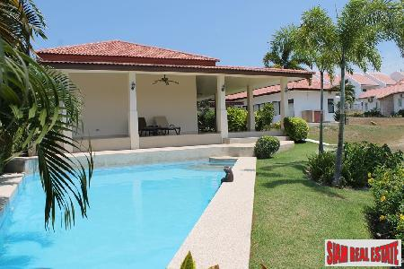 Spanish Style One-Storey House with a Private Swimming Pool for sale in Hua Hin