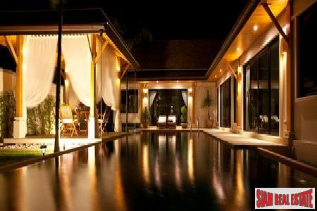 New, Exclusive Three-Bedroom Pool Villa Development in Rawai