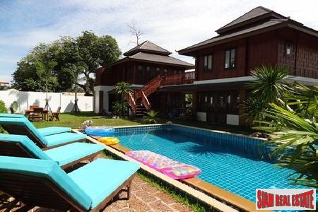 Thai-Country Two Bedroom Pool Villa in Nai Harn