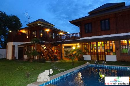 Phu Thai Residence | Thai-Style Two Bedroom Pool Villa in Nai Harn for Holiday Rental