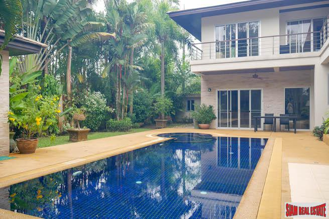 Kathu Valley Four Bedroom Superb Pool Villa for Rent