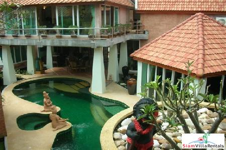 Massive 5 Bedroom Villa Available For Long Term Rent - Jomtien